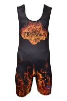 TITAN Orange Inferno Sublimated Singlet